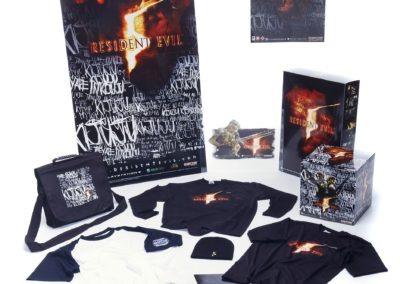 Resident Evil 5 Promotional Merchandise