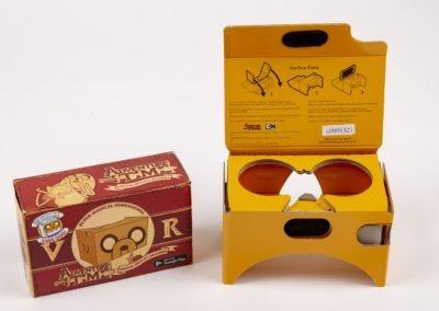 Adventure Time VR Googles Open