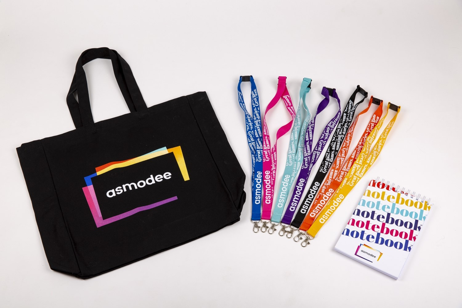 Asmodew=e Lanyards & Bag