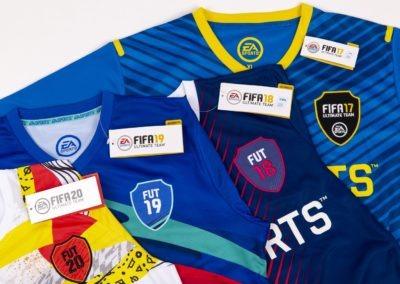 FIFA Shirts Close Up Showcase