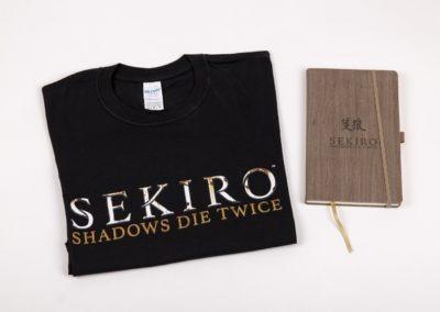 Sekiro T-Shirt & Notebook